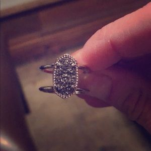 Authentic Kendra Scott ring size 6